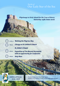Our Lady Star of the Sea Parish: Year of Mercy Lindisfarne Pilgrimage